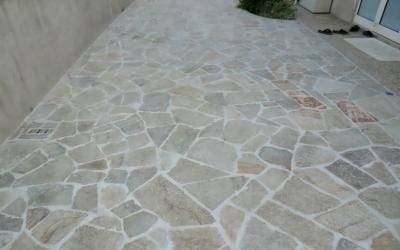 Pietra Luserna-Pavimentazione