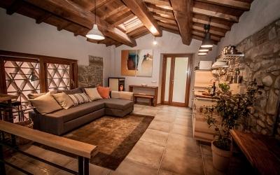 Realizzazione tetto in castagno